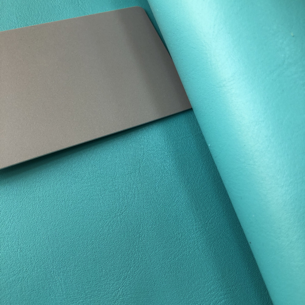 КРС гладкий, 1.1-1.3 мм, NAPPACOLORS, цвет Aquatic, MASTROTTO, Италия