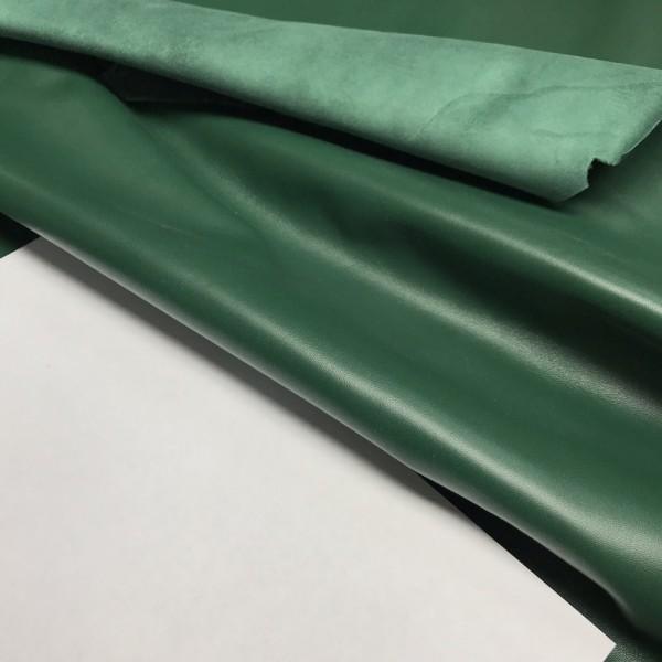 Кожа для GUCCI, цвет зелёный, 0.5-0.7 мм, Италия