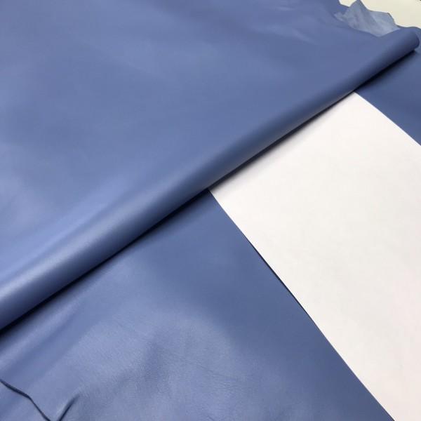 Кожа овцы для GUCCI, цвет небесно-голубой, 0.8-1.0 мм, Италия