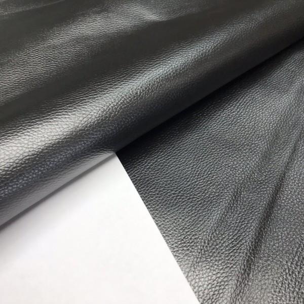 Флотер тиснёный чёрный, 1.4-1.6 мм, Россия