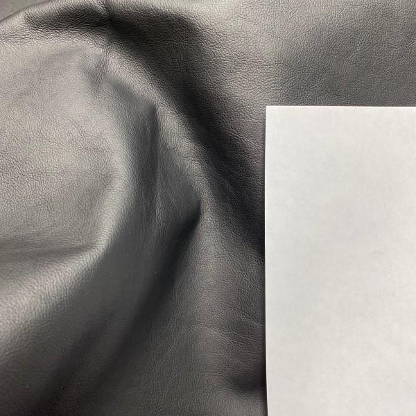 Кожа КРС, 0.9-1.0 мм, цвет 220 Nero, SOAVE, EFFETI GEST, Италия