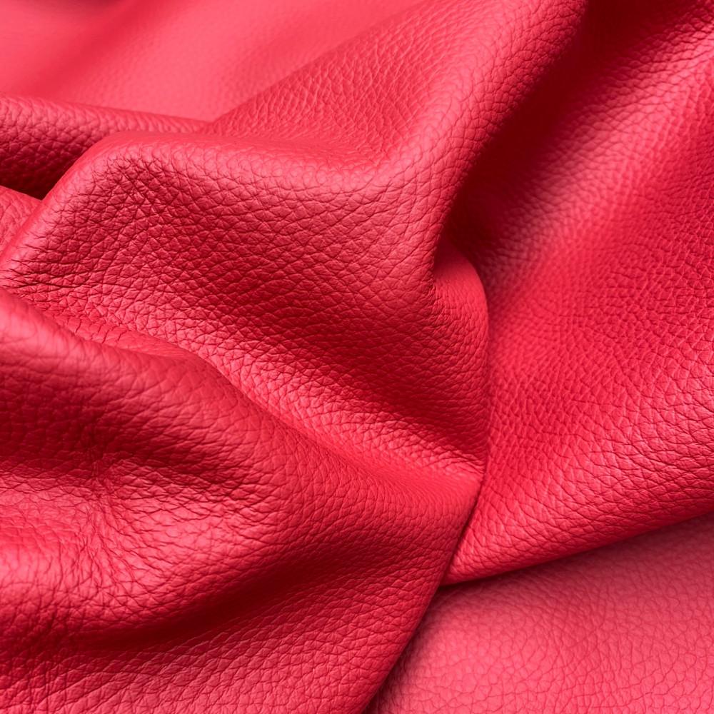 Кожа КРС флотер, 1.3-1.5 мм, цвет 453 Rosso, SKIN, ANICA, Италия