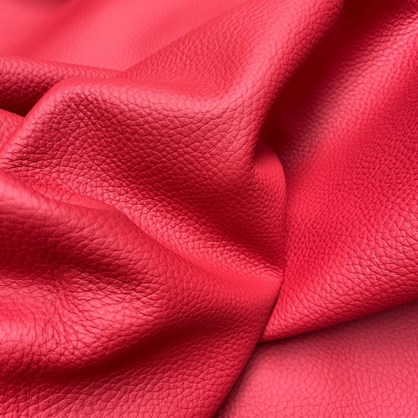 Кожа КРС флотер, 1.3-1.5 мм, цвет 453 Rosso, SKIN, EFFETI GEST, Италия
