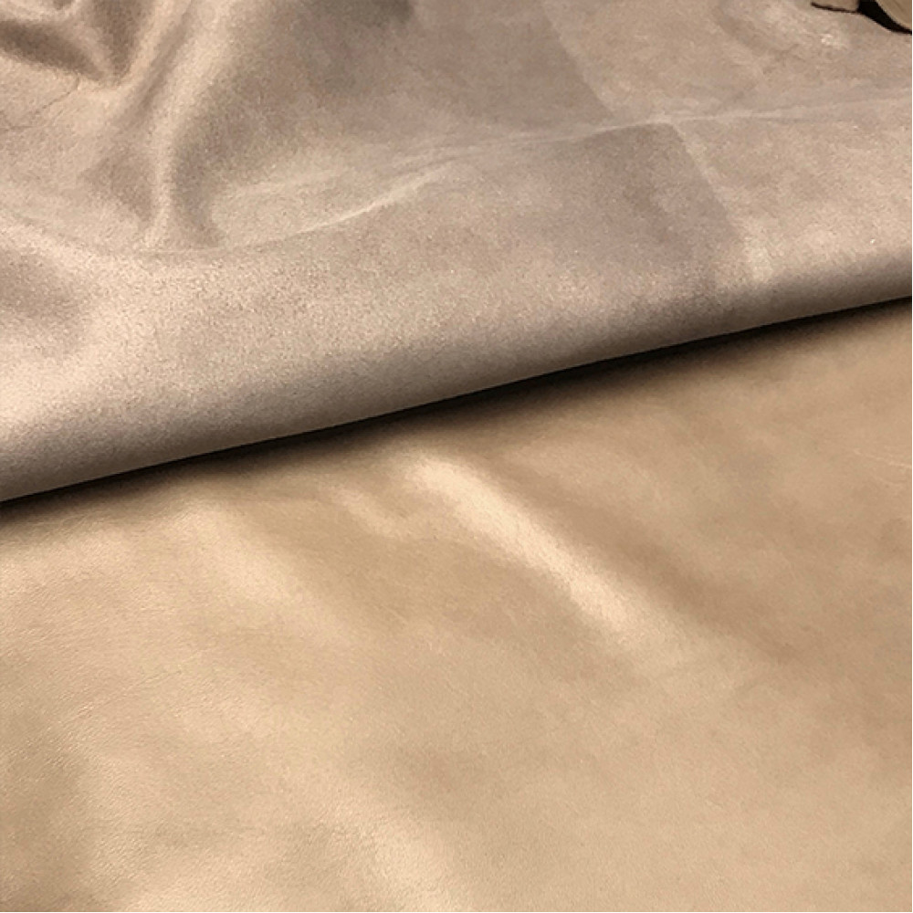 Кожа овцы, наппа, светло-коричневая, 0.5 мм, ИТАЛИЯ