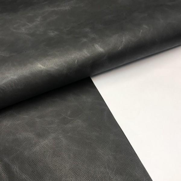 КРС с тиснением, 1.4-1.6 мм, графит, Италия