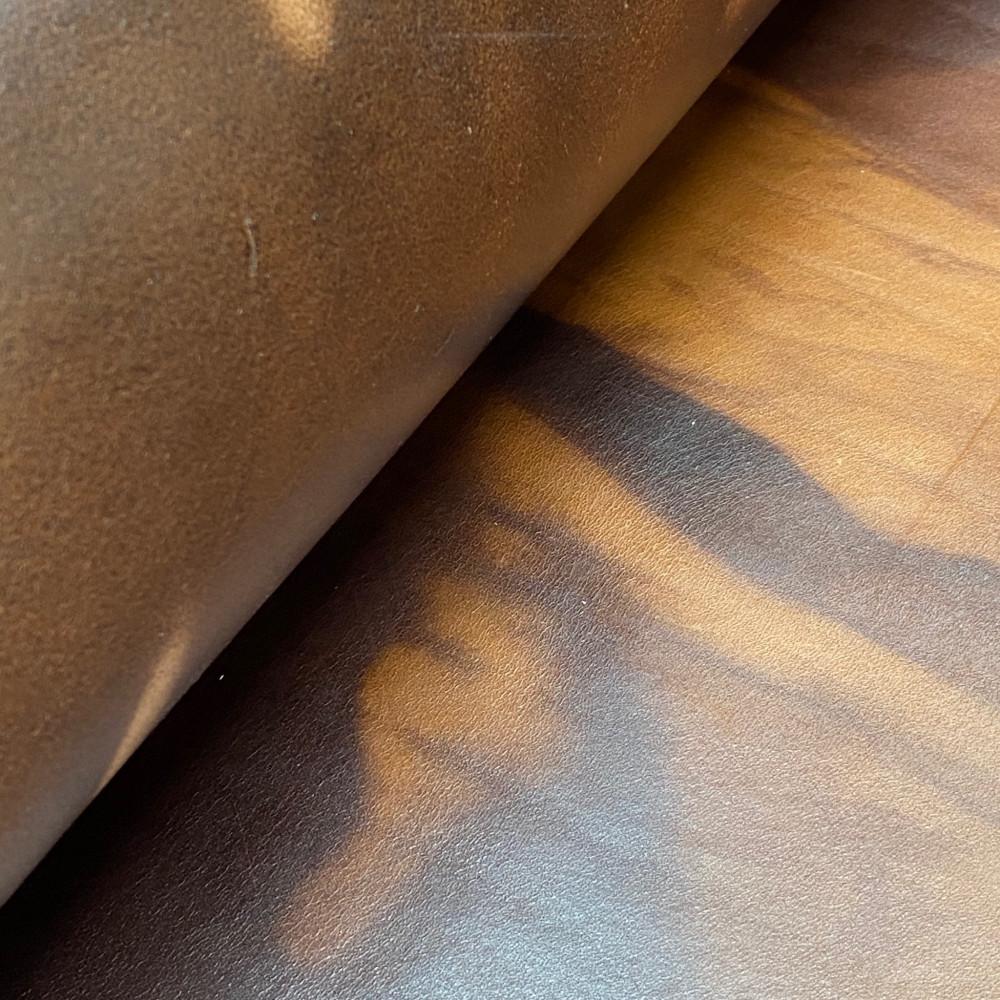 Кожа РД, 3.3 мм, цвет T.Moro, FLUID SOFT, LA BRETAGNA, Италия