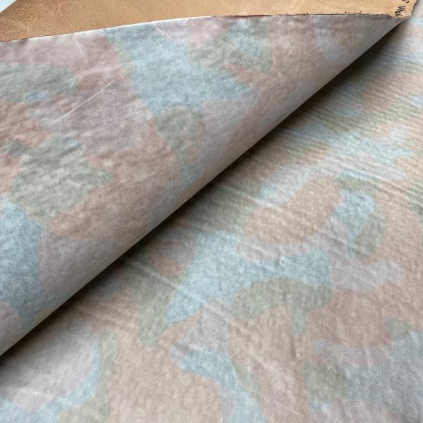 Кожа РД, 1.5 мм, цвет Choco, GHOST CAMOUFLAGE, LA BRETAGNA, Италия