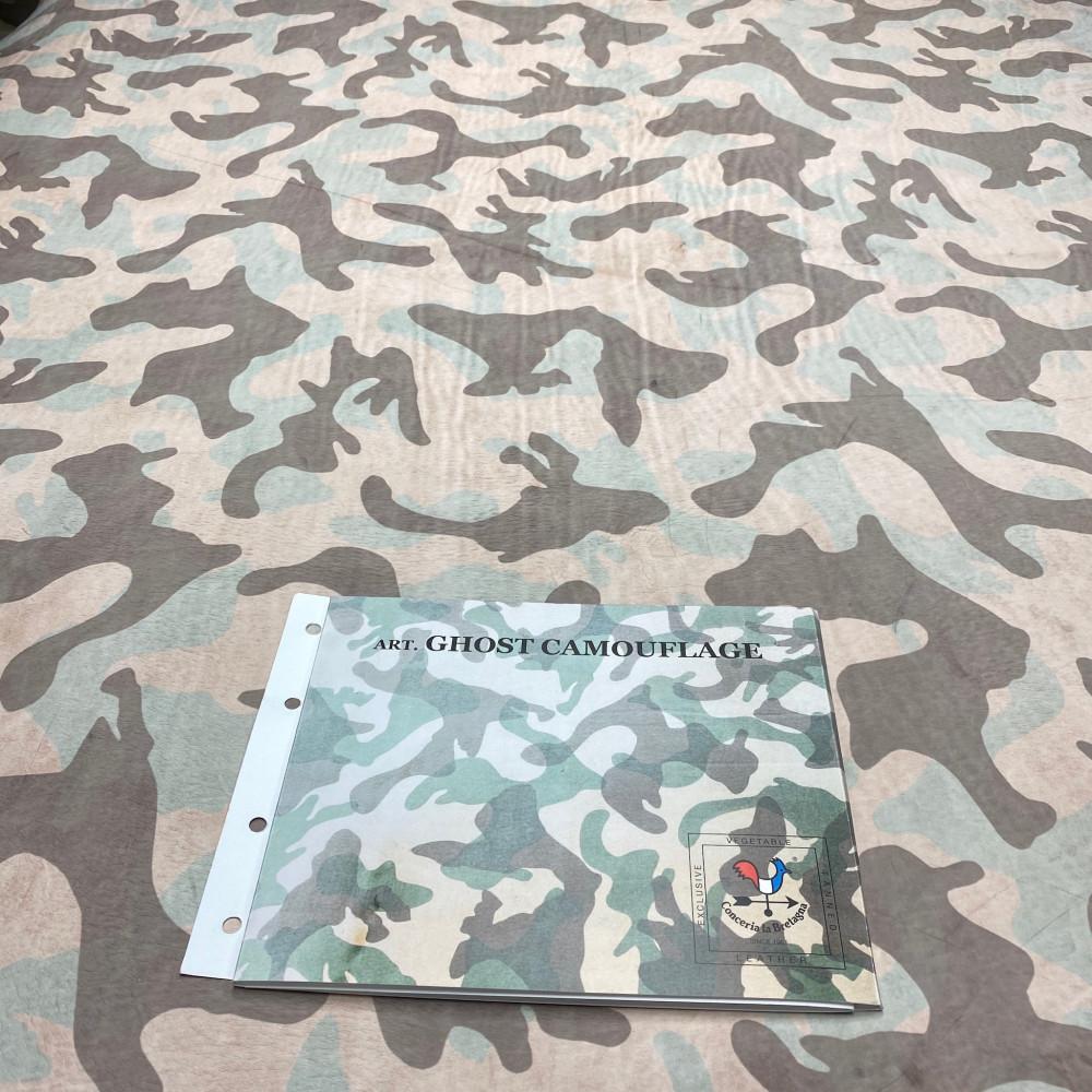 Кожа РД, 2.1 мм, цвет Naturale, GHOST CAMOUFLAGE, LA BRETAGNA, Италия