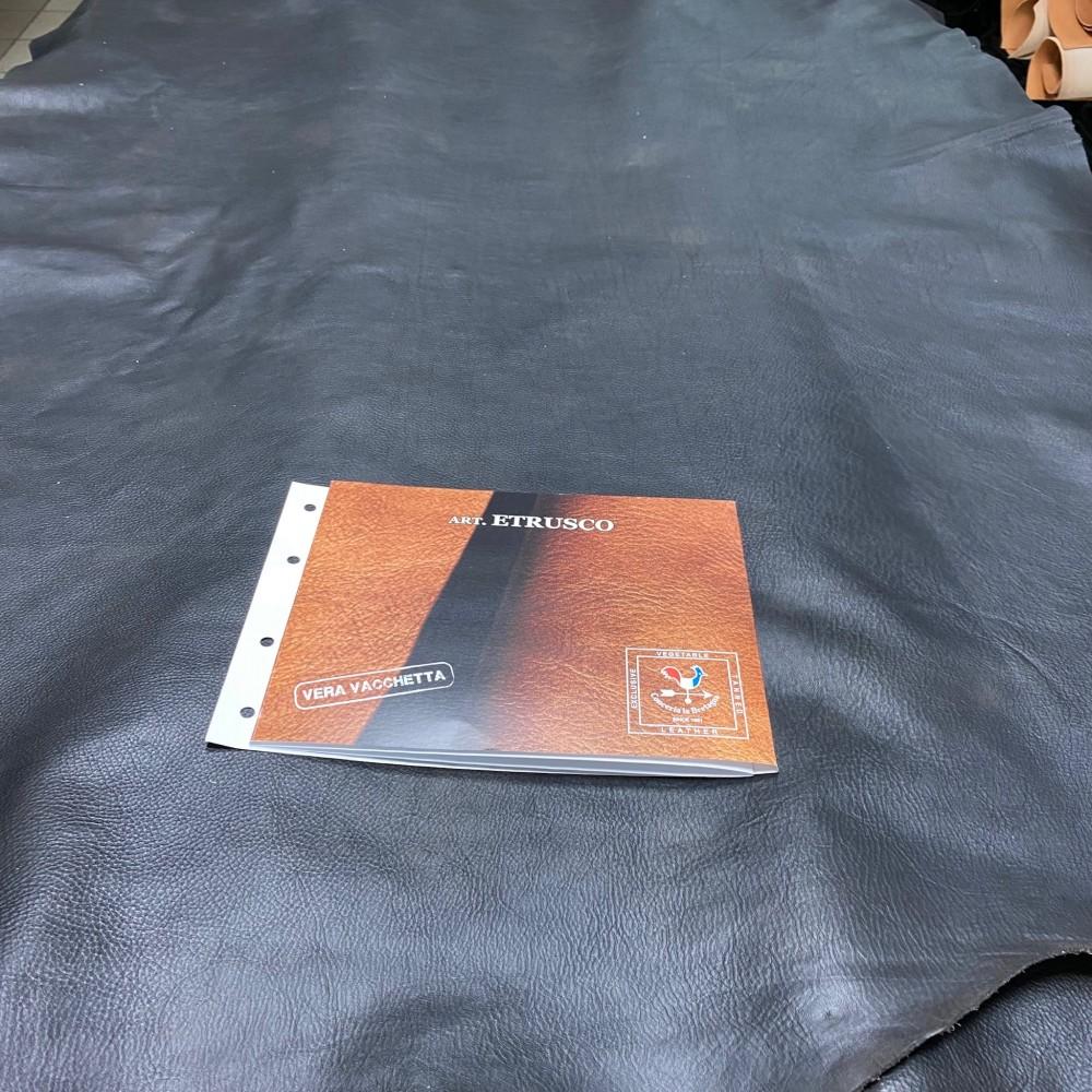 Кожа РД плечи, 1.0-1.2 мм, цвет Antracite, ETRUSCO, LA BRETAGNA, Италия