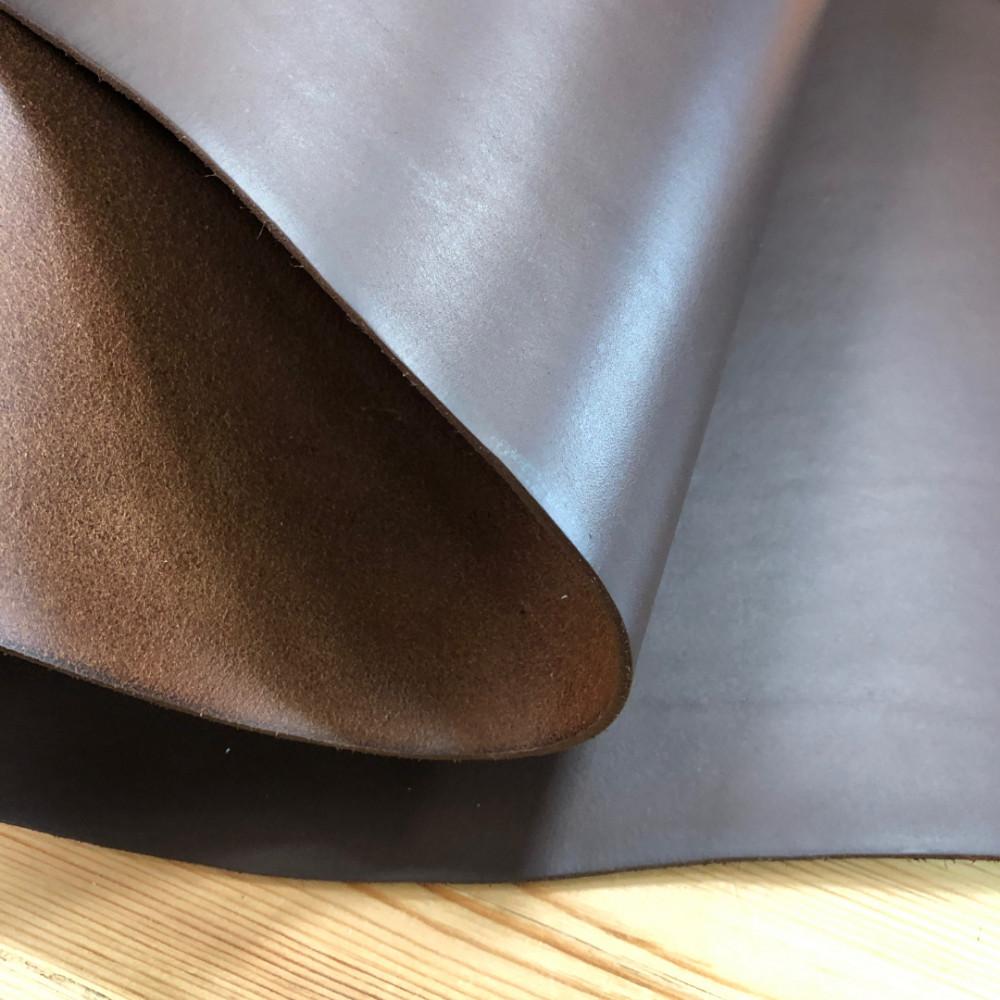 Кожа РД, 3.0-3.2 мм, цвет Castanga, PECOS High Thickness, LA BRETAGNA, Италия