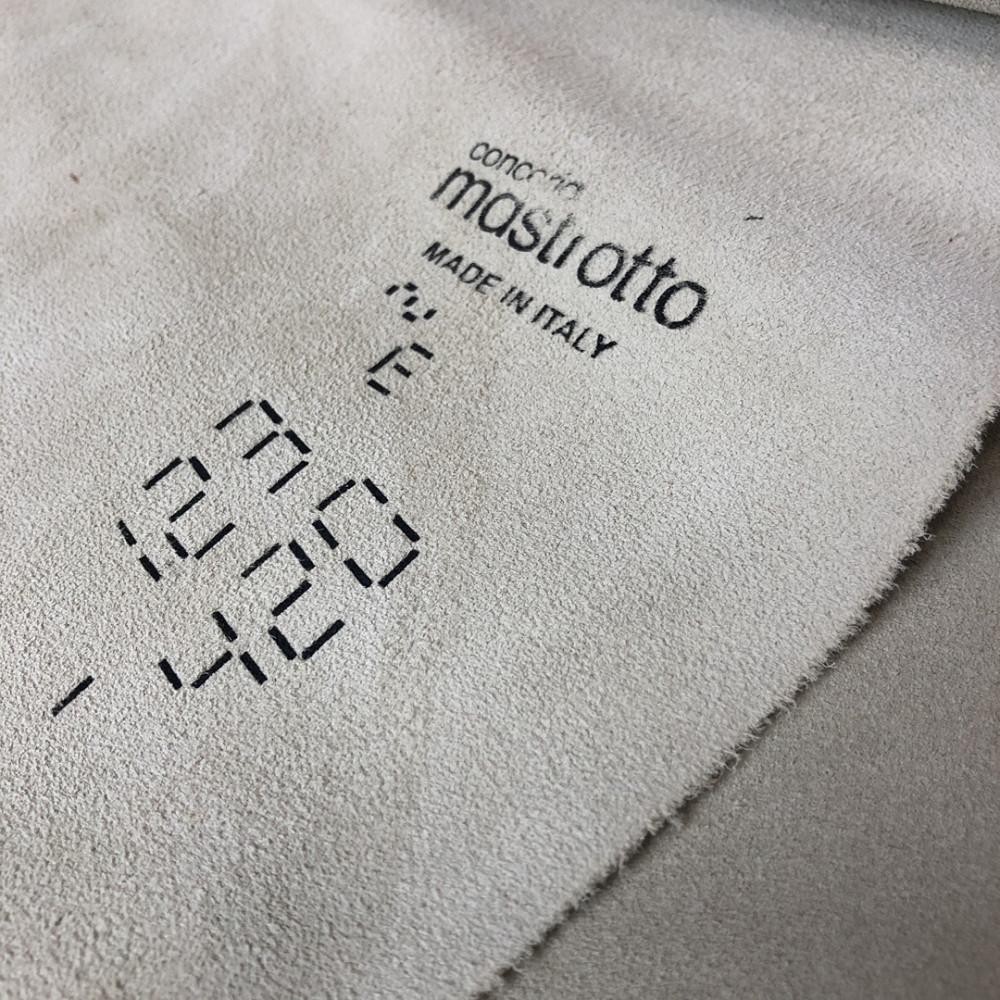 КРС, кроста, 1.2-1.4 мм, VESUVIOCOLORS, цвет Papyrus, MASTROTTO, Италия