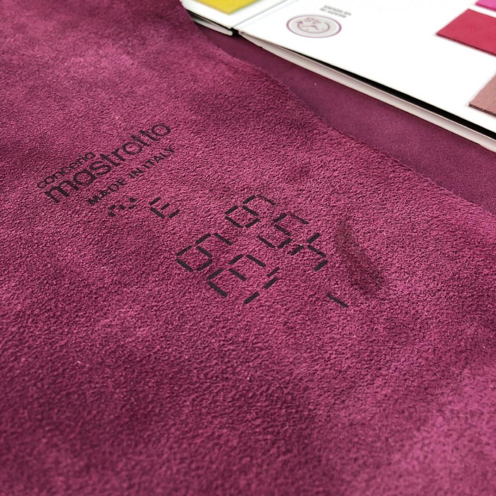 КРС, кроста, 1.2-1.4 мм, VESUVIOCOLORS, цвет Cardinal, MASTROTTO, Италия