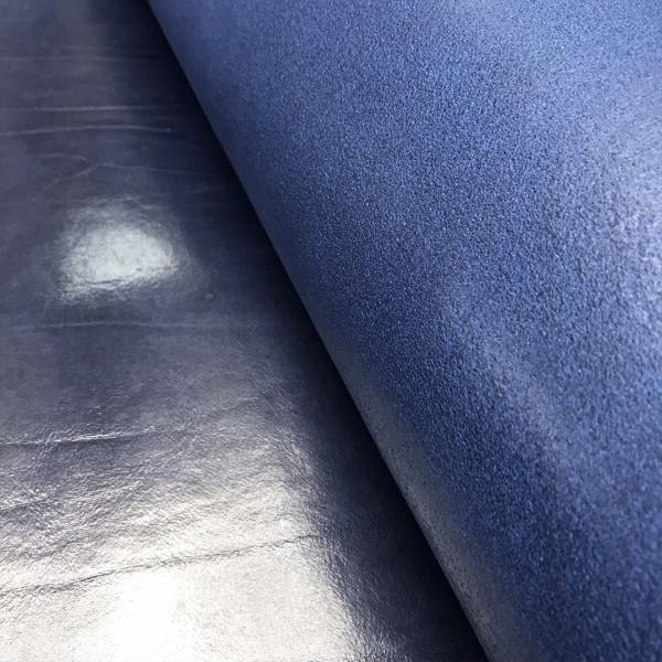 Плечи растительного дубления, 2.8-3.0 мм, цвет 143 синий, DOUGLAS, MONTANA, Италия