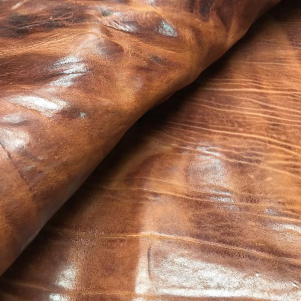 Плечи растительного дубления, 3.2-3.4 мм, цвет 9103 коньяк, VINTAGE, MONTANA, Италия